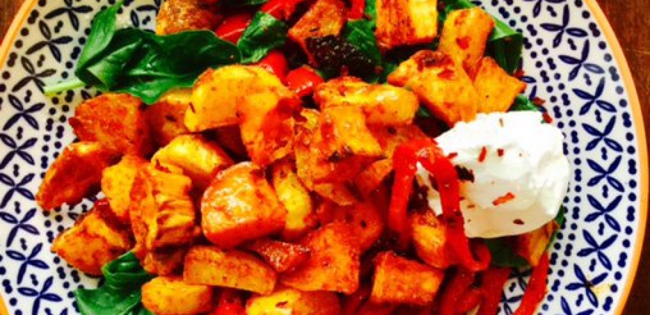 A taste of Spain: Steenbergs smoked paprika and chorizo hash, a heavenly brunch recipe