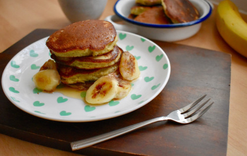 Recipe for Speedy Vanilla Banana Pancakes