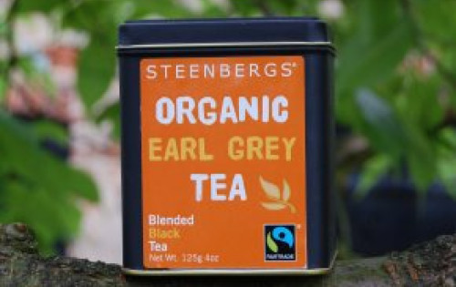 STEENBERGS TEA TASTER PANEL Morning Brew herbal tea & organic Fairtrade Earl Grey Tea