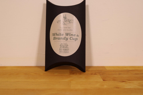 Old Hamlet White Wine and Brandy Cup muslin spice bundles from the Old Hamlet and Steenbergs UK online shop for drinks ideas.