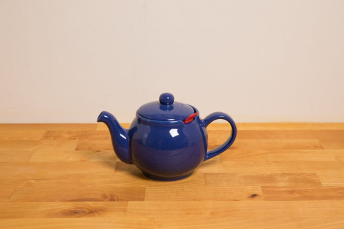 Chatsford Tea Pot With Filter - 2 Cup Blue