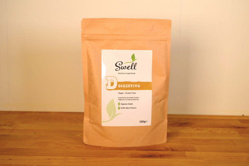 Swell Digestivo Spice Blend, great for  digestive health from the Steenbergs UK online spice shop.