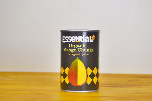 Essential Organic Mango Chunks in Organic Juice 400g