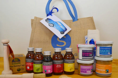 Steenbergs Organic Baking Gift Bag from the Steenbergs UK online shop for all things baking.