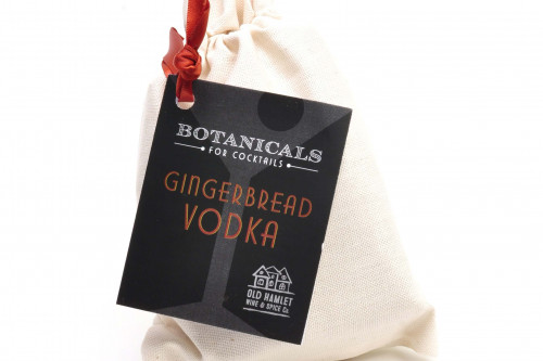Old Hamlet Gingerbread Vodka Kit, make your own delicious flavoured vodka with this spice kit from Steenbergs UK online shop for flavoured vodka.
