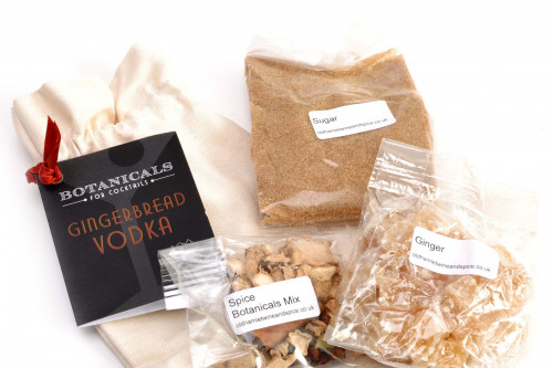 Old Hamlet Gingerbread Vodka Kit, make your own delicious flavoured vodka with this spice kit from Steenbergs UK online shop for spice mixes for drinks.