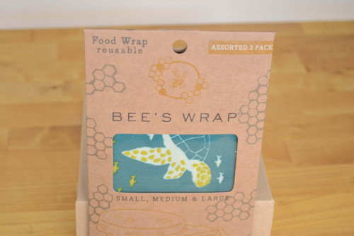 Reusable Food Wrap from Bee's Wrap compostable, biodegradable plastic free.