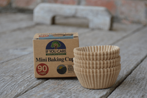 If You care Mini baking cups from the Steenbergs UK ecofriendly online baking store.