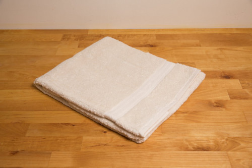 Organic Unbleached Cotton Hand Towel from the Steenbergs UK online shop for organic towels, unbleached.