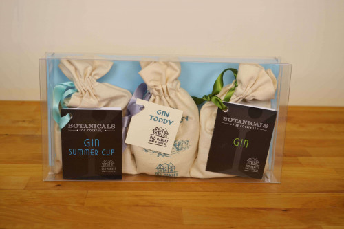 Old Hamlet Gift Set of 3 Gin Botanicals