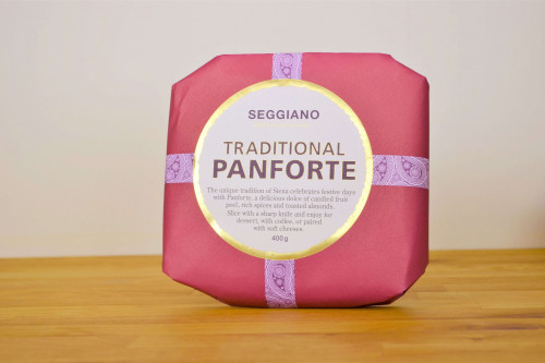 Buy Seggiano Traditional Panforte 400g from the Steenbergs UK online shop for traditional Italian food.