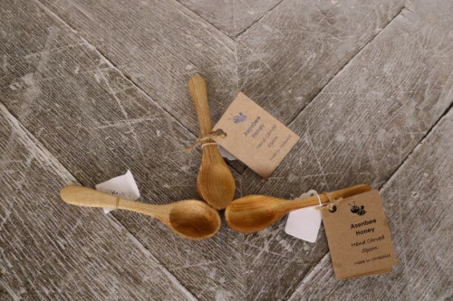 Sycamore Wooden Spice Spoons hand made in Yorkshire