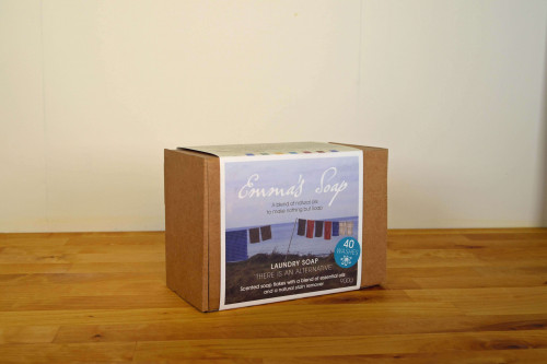 Emma's natural laundry flakes 900g , made in the UK