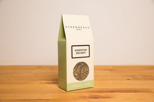 Steenbergs Digestive Delight Herbal Loose Leaf Tea from the Steenbergs UK online shop for herbal teas and infusers.
