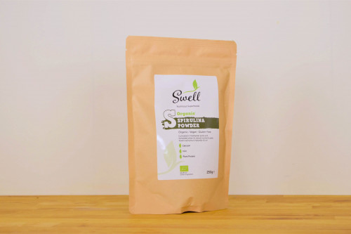 Swell Organic Spirulina Powder, part of Steenbergs super nutrients range