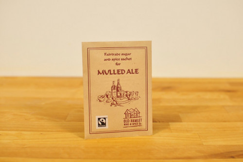 Old Hamlet Fairtrade Mulled Ale Spice Mix from the Steenbergs and Old Hamlet UK online shop for traditional drink mixes.