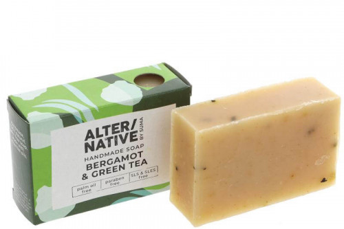Handmade soap - palm oil free, paraben freen and SLS and SLES free.