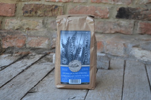 Bacheldre Organic Strong White Flour from the Steenbergs UK online shop for organic baking ingredients and organic food.
