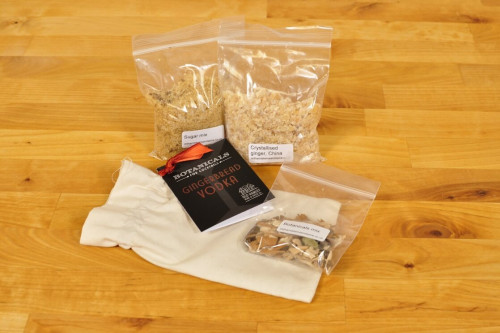 Old Hamlet Gingerbread Vodka Kit, make your own delicious flavoured vodka with this spice kit from Steenbergs UK online shop for drink mixes.