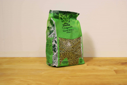 Suma Organic Mung Beans Dried from the Steenbergs UK online shop for organic vegan food.