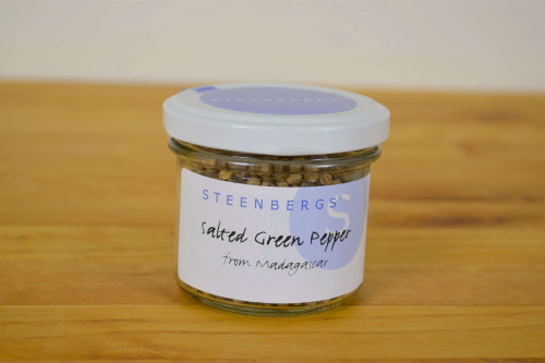 Steenbergs Salted Green Pepper from Madagascar from the Steenbergs UK online spice shop.