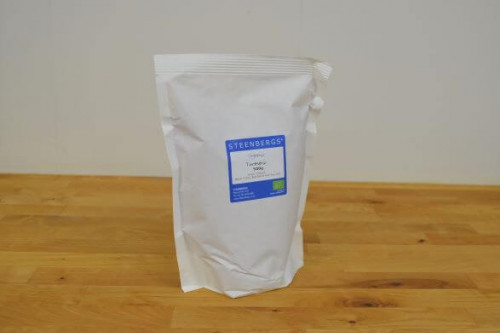 Steenbergs Organic Turmeric Powder 500g in heat sealed paper  from the Steenbergs UK online shop for organic herbs and spices.