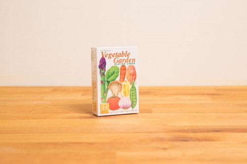 The Famous Vegetable Garden Playing Cards from the Steenbergs UK online shop for nature illustrated playing cards.