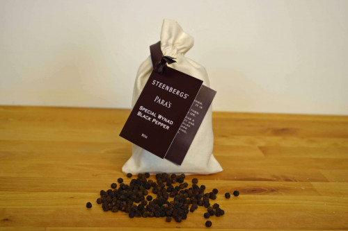 Special Wynad Pepper from the Parameswaran Estate from the Steenbergs UK online spice shop.