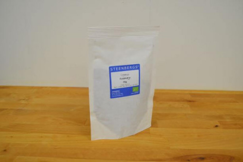 Steenbergs Organic Rosemary 75g from the Steenbergs UK online shop for organic herbs and spices.