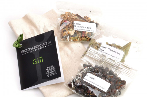 Old Hamlet Botanicals for making your own gin from Vodka from the Steenbergs UK online shop for gin flavours and gin gifts.