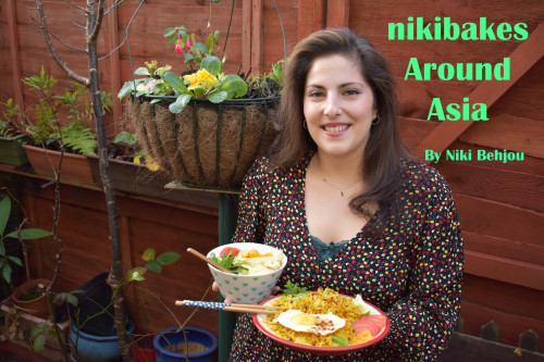 Niki Bakes around Asia recipe E-Book from the Steenbergs UK online shop for asian spices and ingredients.