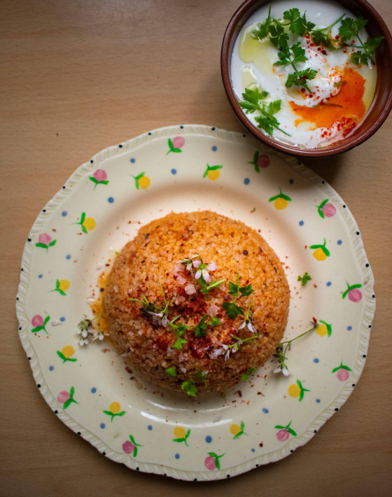 Niki's Easy Speedy Bulgur Pilavi
