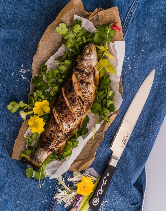 ASIAN GRILLED WHOLE TROUT Recipe