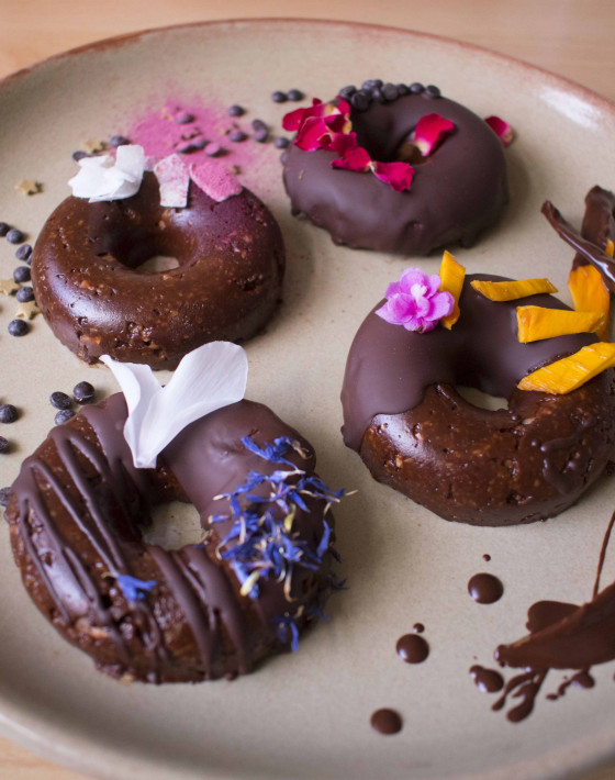 Niki's Raw Chocolate Doughnuts Recipe