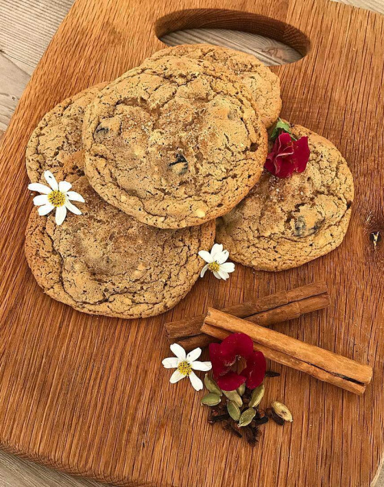 CHERRY HAZELNUT CHAI COOKIES RECIPE