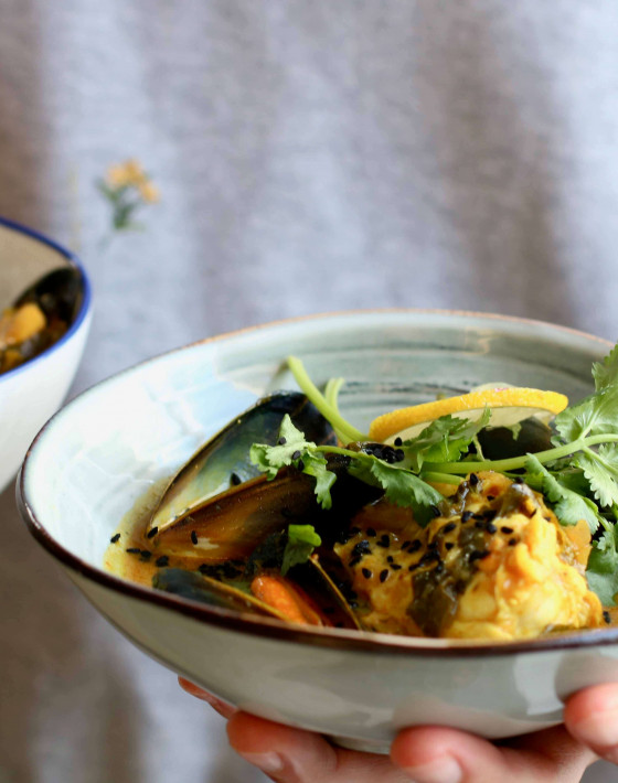 Sri Lankan Spiced Fish Soup