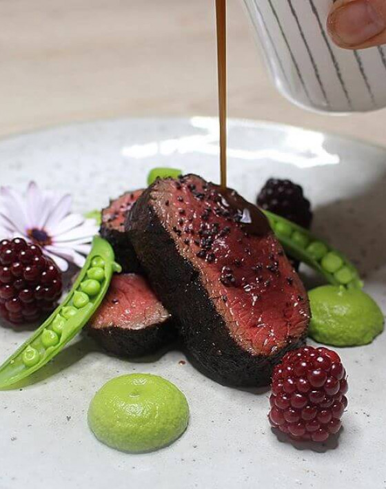 SELIM PEPPER And COFFEE CRUSTED WAREHAM SEEKER STAG (OR ANY VENISON) Recipe