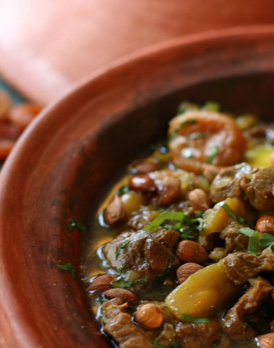 Lamb Tagine with Fairtrade Mango and Apricots