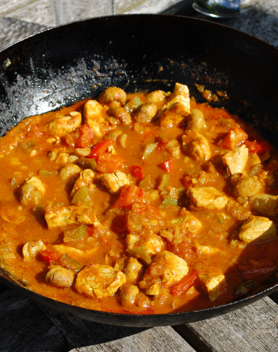 Axel's Chicken Balti