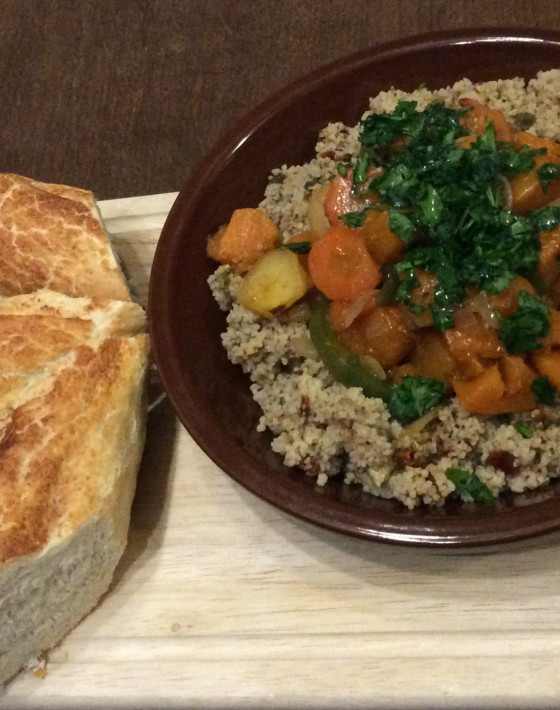 Moroccan Vegetable Stew