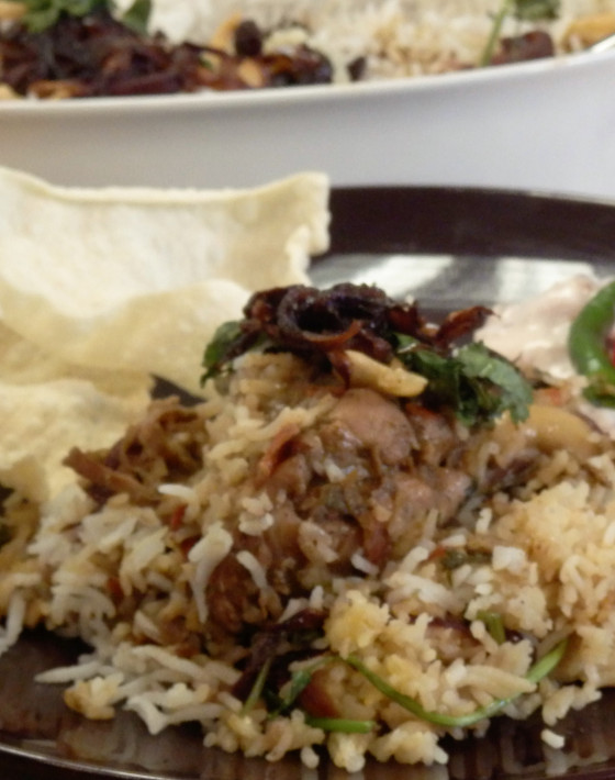 Sharmini's Chicken Biryani