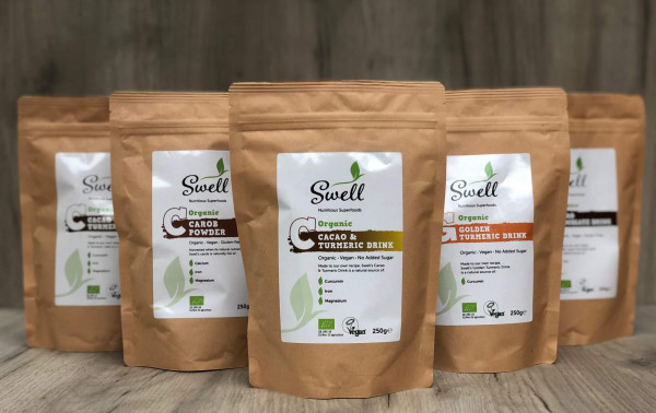 Introducing SWELL - the new range of Nutritious Superfoods from Steenbergs