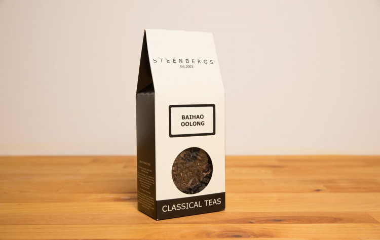 Baihao Oolong Tea 50g in box Steenbergs