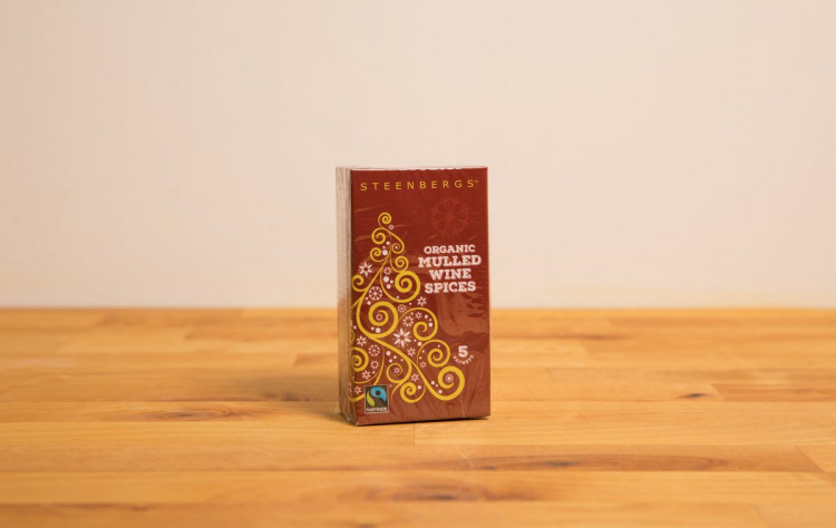 Organic Fairtrade Mulled Wine Sachets (Box of 5)