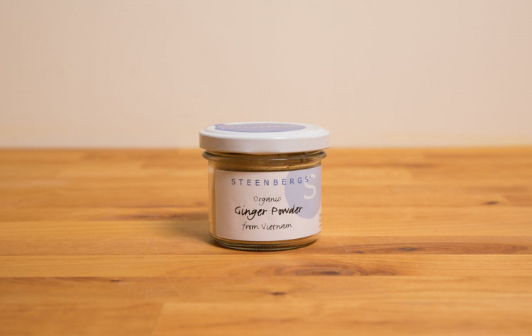 Organic Ginger Powder Standard Jar - 42g