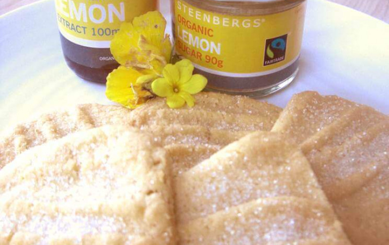 Delicious zesty biscuits, with a yummy chewiness from the