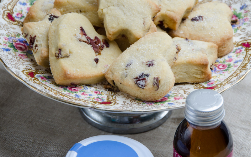 Steenbergs Rosewater Shortbread